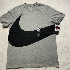 Nike Men's Classics T-Shirt  Black/Gray/Olive